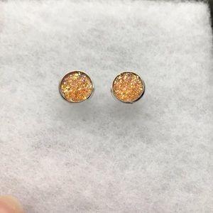 Beautiful Orange Earring Set